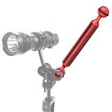 BGNING Camera Diving NEW Ultra Light Carbon Fiber Double Ball Head Buoyancy Lamp Arm