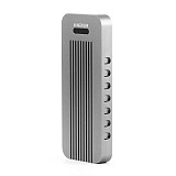UK Stock Aluminum NVMe PCIE USB3.1 HDD Enclosure M.2 to USB SSD Hard Disk Drive Case Type C 3.1 M KEY Connector HDD Box for Desktop PC