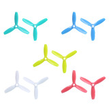 GEPRC 10 Pairs/lot 3-Blades Propeller FPV Racer Drone 3 inch Propellers Colorful Props for RC Racing Quadcopter Multicopter