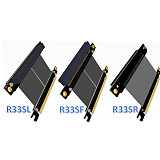 PCI-E X16 to 16X 3.0 Male to Female Riser Extension Cable Graphics Card Computer Chasis PCI Express Extender Ribbon 128G/Bps