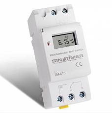 UK Stock SINOTIMER Weekly 7 Days Programmable multifunction Digital Guide Rail Timer Switch Energy Saving Controller