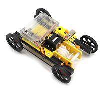 Feichao DIY Handmade Toy Gear Shifting Trolley Three-speed Adjustment  Mechanical Transmission Model Car for Children