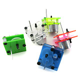 4PCS Feichao 310 Geared Motor Reducer Technology Small Production Motor DIY Puzzle Solar Toy Handmade Accessories