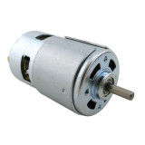 Feichao 775 Round Shaft Motor DC Motor Ball Bearing Power Tool 12-24V 775 Motor High Torque