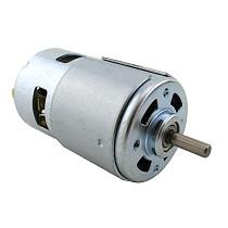Feichao 775 Round Shaft Motor DC Motor Ball Bearing Power Tool 12-24V 775 Motor High Torque