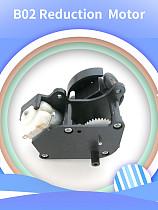 Feichao 4Pcs B02 Universal Geared Motors DIY Steering Structure 130 Geared Motor Remote Control Car Steering Model Motor