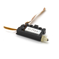 Feichao 20Pcs 7*9*17 Motors (With Reduction Gear Set / Black) DIY Motor Reduction Gear Box Motor Micro Deceleration