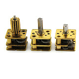 Feichao 4Pcs N20 Deceleration Head Miniature Low Speed DC Small Motor Diy Robot Metal Gear Reducer Motor With Gear