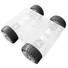 Feichao DIY Acrylic Smart Car Intelligent Line 370 Gear Motor Car Model