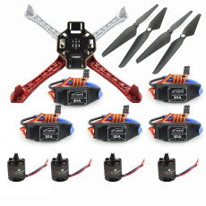 JMT F450-V2 Frame Kit with Air Gear 450 Power Air2216+T1045 Combo 30A ESC for DIY RC FPV Drone Quadcopter