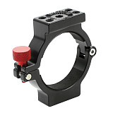 BGNing Aluminum Alloy Expansion Ring Stabilizer Expansion Clip for Mounting Monitor Mic LED Light for DJI Ronin S Gimbal Accessories