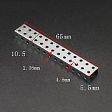 100Pcs DIY Toy accessories DIY frame pedestal hand-assembled Toy material 2.05mm hole For Education Developing Kid's Toy