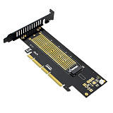JEYI SK18 M key M.2 NVMe SSD to PCIe Adapter Card Support PCI Express 3.0 x4 2230 to 22110 Size M.2 SSD High Speed Riser Card