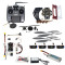 Full Set Hexacopter 4-axle Aircraft Kit HJ 450 Frame PXI PX4 Flight Control 920KV Motor GPS AT10 Transmitter Props