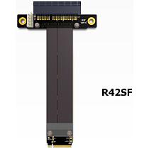 Riser PCIe x4 3.0 PCI-E 4x To M.2 NGFF NVMe M Key 2280 Riser Card Gen3.0 Cable M2 Key-M PCI-Express Extension cord 32G/bps