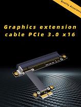 Gen3.0 PCIe Riser Card 1x to 16x Adapter No need USB , PCI-E x1 x16 GPU Riser Adapter for Bitcoin Mining NVIDIA AMD Card