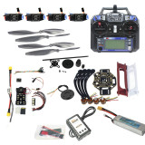 Full Set Hexacopter 4-axle Aircraft Kit HJ 450 Frame PXI PX4 Flight Control 920KV Motor GPS FS-i6 Transmitter