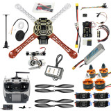 DIY Hexacopter 4-axle Aircraft Kit HJ 450 Frame PXI PX4 Flight Control 920KV Motor GPS 1043 Propes
