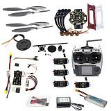 Full Set Hexacopter 4-axle Aircraft Kit HJ 450 Frame PXI PX4 Flight Control 920KV Motor GPS AT9 Transmitter Props