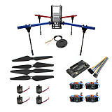 JMT X450 450MM Wheelbase Aluminum Tube Rack Frame Kit APM 2.8 / MINIPIX FlIght Control 2216-880KV Motor DIY GPS Drone RC Hobby Models