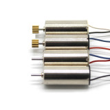 4Pcs 8520 High Torque RC Motor Aircraft Main Motor High Speed Long Line with copper gear For DIY Toy Motor