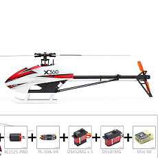ALZRC Devil X360 FBL Remote Control 3D Fancy Helicopter Getting Started 360mm Main Rotor RC Racing Drone Quadcopter