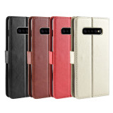 FCLUO Mobile Phone Case Flip Phone Card Protection Leather Case for Samsung S10 5G/Galaxy S10/Galaxy S10 PLUS/Galaxy S10e/S10lite/Note 10