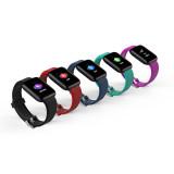 FCLUO D13 Smart Watch Bluetooth Bracelet Color Screen Blood Pressure Heart Rate Sleep Monitoring Sports Bracelet