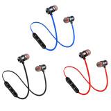 FCLUO XT10 Wireless Bluetooth Headset BT5.0 Sports Waterproof Earphone Magnetic Stereo Earbuds