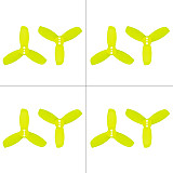 Gemfan 20 Pairs 2040 2.0X4.0 PC 3-blade Propeller 2 Inch Prop 3-hole Blades for 1103 1104 Motor for RC Racer Racing Drone Quadcopter