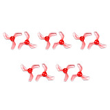 Gemfan 1635 1.6x3.5x3 40mm 1m Hole 3-blade Propeller PC CW CCW Props for 1103 1105 RC Drone FPV Racing Brushless Motor Spare Part Accs