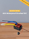 Hobbywing QuicRun WP 880 80A Dual Brushed Waterproof ESC Speed Controller For 1/8 RC Car Truck Tank