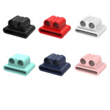 Anti-lost Wireless Headphone Silicone holder Clip for Airpods Apple watch Strap Earphone Sports Hook Clip Bluetooth Headset