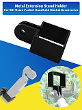 Metal Extension Frame Stand Holder Bracket for DJI OSMO Pocket for Gopro Camera Mounting Adapter Clip Handheld Gimbal Accessory