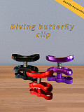 XT-XINTE Diving Butterfly Clip Two Hole Butterfly Clip Metal Ball Clamp Photography Accessories