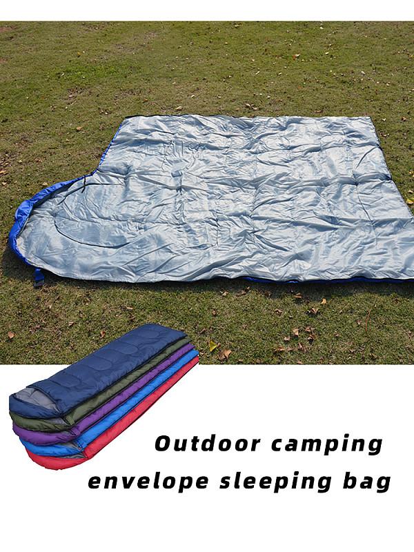 MingChuan 4 Season Envelope Sleeping Bag Waterproof Comfortable Single Suit Case for Camping Hiking Outdoor