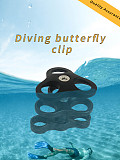 XT-XINTE Three Hole Butterfly Clip Diving Photography Equipment Accessories Lamp Arm Extension Rod Connecter