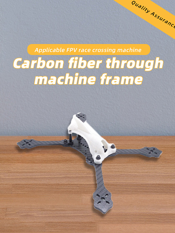 JMT 5inch 233mm 6inch 260mm 7inch 285mm HX Frame 3D Printing Canopy Quadcopter Frame Kit Carbon Fiber Rack for DIY FPV Racing Drone