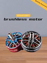 RCinpower GTS V2 2207 3-6S Brushless Motor 1860KV 2500KV 2750KV FPV Motors for Mini FPV Racing Drone Quadcopter DIY RC Hobby Models