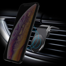 Magnetic Car Phone Holder Air Vent Mount Stand in Car Magnet GPS Mobile Phone Holder L Shape for iPhone Xs for Samsung S9 Xiaomi