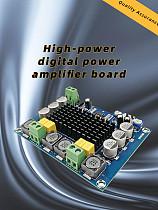 New TPA3116D2 Dual Channel Stereo High Power DC 12-26V 2x120W Digital Audio Amplifier Board  Amplificador Module XH-M543