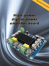 New TPA3116D2 Dual Channel Stereo High Power DC 12-26V 2x120W Digital Audio Amplifier Board  Amplificador Module XH-M543