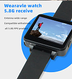 JMT 200RC FPV Wearable Watch 2  LCD 5.8G 48Ch FPV Monitor Wireless Receiver Watch LCD Display for FPV RC Drone Quadcopter