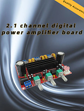 XH-M139 2.1 Channel Digital Audio Amplifier Board Module TPA3116D2 50Wx2+100W 200W Subwoofer Power DC 12~24V