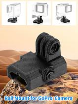 BGNING 3D Printed Universal 20mm Mini Rail Mount Base Adapter for DJI OSMO Action for GoPro Hero 3+ 4 5 6 7 SJcam YI EKEN Sports Camera