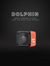 Caddx Dolphin Starlight 1080P DVR HD Recording Wifi 150 Degree Mini Action Sport Camera Internet Stream Cam FPV Camera for DIY RC Drone