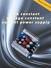 DC-DC 20A 300W Step Down Buck Converter Constant Current LED Driver Voltage Power Supply Module