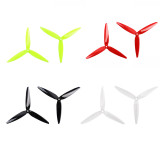Gemfan 2 Pairs Flash 7040 7 Inch 3-Blade Propeller CW & CCW for 2206-2407 motor RC Racing Drone FPV Replacment Parts