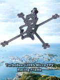IFlight TurboBee 120RS 120mm Wheelbase 3mm Bottom Board Micro FPV Racing Frame Kit for DIY RC Drone Tinywhoop Cinewhoop