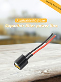 JMT XT60 Power Cord With Capacitor Filter For RC Drone Racing Aircraft Quadcopter
